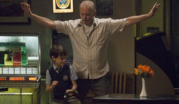 St. Vincent Jaeden Lieberher Bill Murray Vincent and the kid dancing