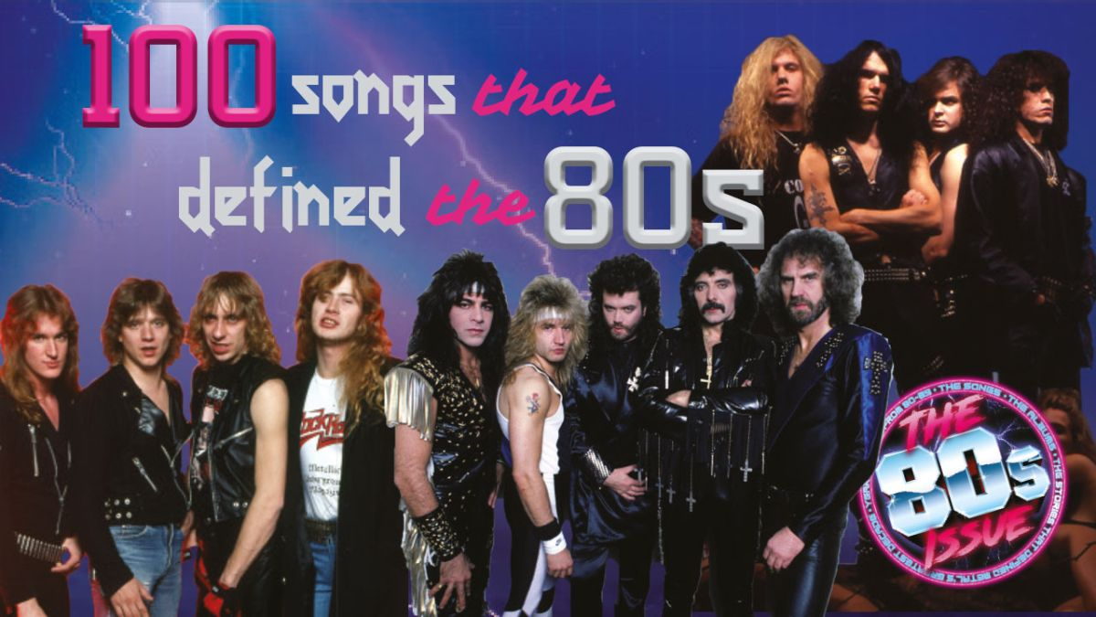 100 Rock and metal songs that defined the 1980s