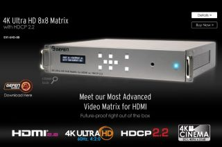 Gefen New 4K Ultra HD Matrix Switch