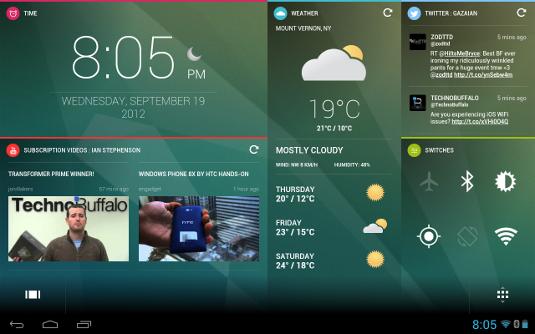 ChameleonAndroid screen design
