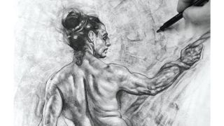 How to draw muscles under stress: final
