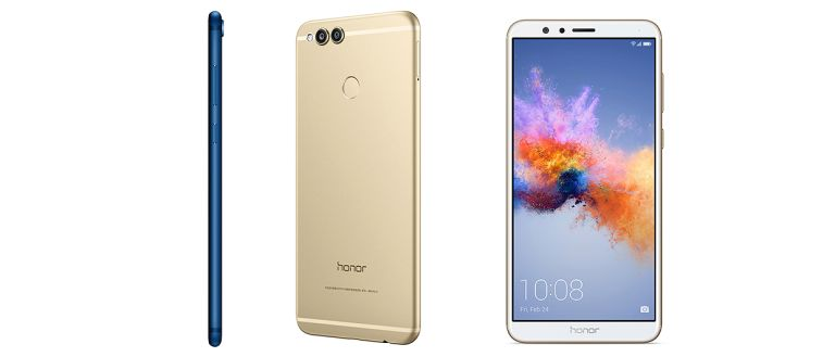 Honor 7X comes in black, white and metallic blue