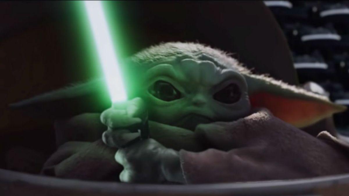 Watch Baby Yoda Fight Darth Sidious In This Hilarious Mandalorian Fan Edit Gamesradar