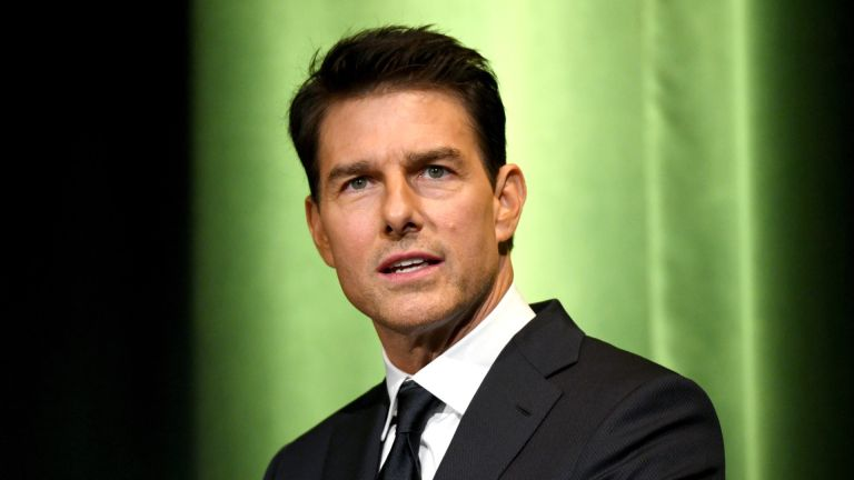 Tom Cruise speaks onstage during the 10th Annual Lumiere Awards at Warner Bros. Studios on January 30, 2019 in Burbank