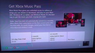 Xbox Musix pricing
