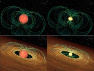 Why Fast-Spinning Young Stars Don't Fly Apart
