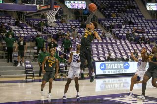 Guard MaCio Teague and the rest of the Baylor University Bears are hoping to again defeat the TCU Horned Frogs when they meet Saturday.