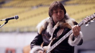 Greg Lake on stage