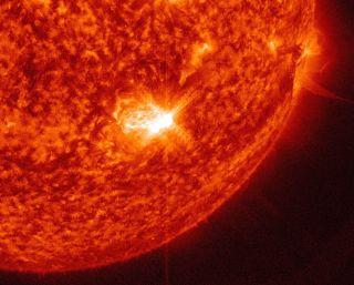 Solar Flare of Sept. 28, 2015