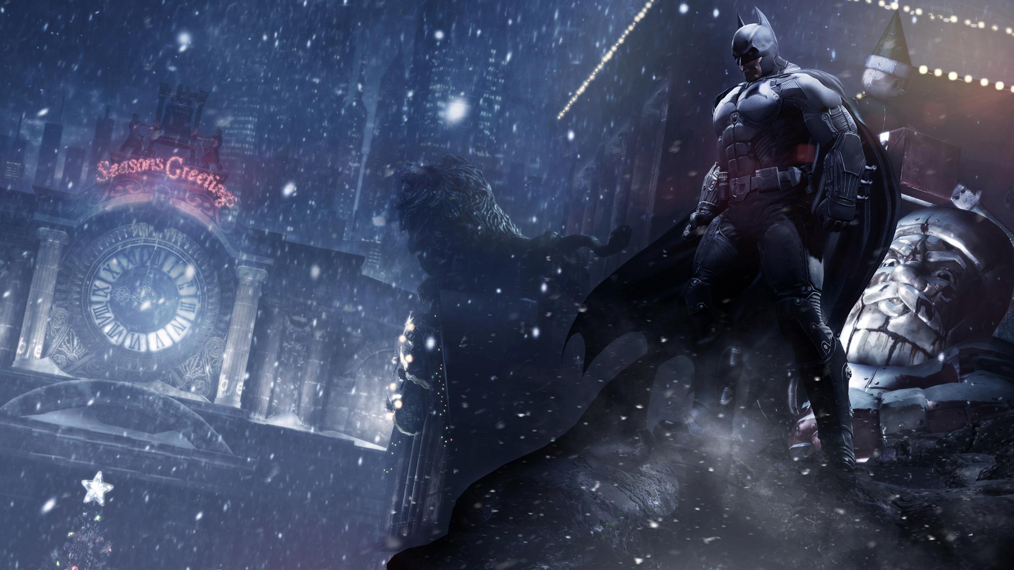 Batman: Arkham Origins Screenshots Are Full Of Christmas Cheer #26515