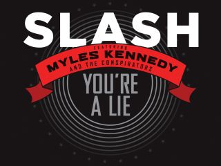And so the first material from Slash's second solo album is unveiled...