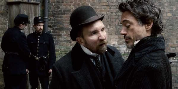 Inspector Lestrade in Sherlock Holmes