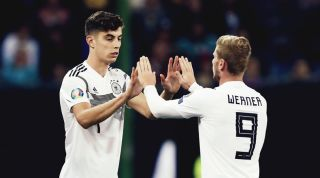 Timo Werner and Kai Havertz