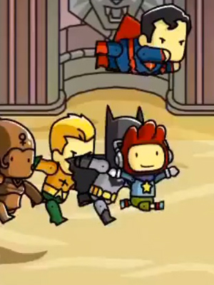Scribblenauts Unmasked A DC Comics Words | GamesRadar+