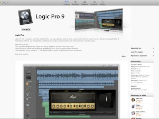 And here it is: Logic Pro 9 on the Mac App Store.