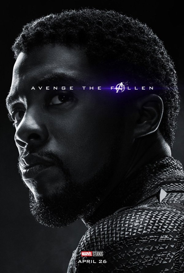 Black Panther is definitely dead in Endgame, we saw him vanish. Official poster