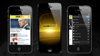 BBC Sport app kicks off on iOS Android warming up on sidelines