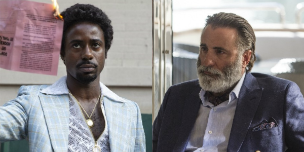 Gary Carr The Deuce Andy Garcia Ballers HBO
