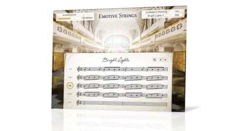 As with Action Strings, Emotive Strings' lack of mixing functionality is notable by its absence