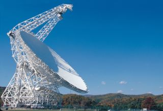 The Green Bank Telescope in West Virginia is listening for evidence of intelligent life in the universe.