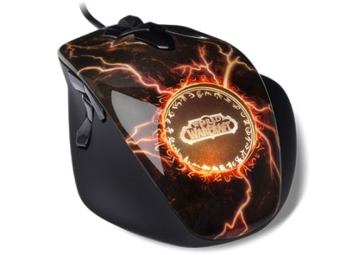 SteelSeries World of Warcraft MMO Gaming Mouse: Legendary Edition
