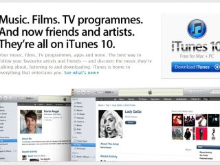 iTunes 10 is not available for download, featuring Apple's new 'Ping' social network