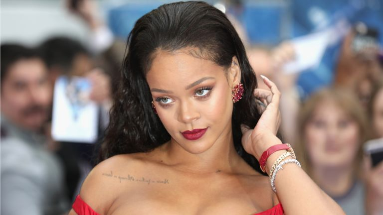 """Rihanna attends the """"Valerian And The City Of A Thousand Planets"""" European Premiere at Cineworld Leicester Square, London"""