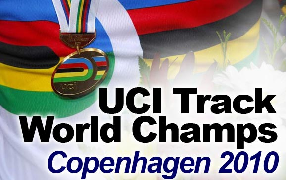 UCI Track Cycling World Championships 2010 logo