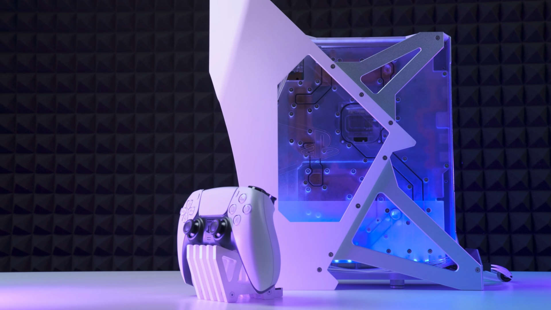 This PS5 comes with custom liquid cooling and is utterly gorgeous