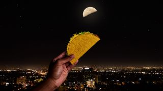 """Celebrate the """"Taco Moon"""" tonight (May 4) with a free crunchy taco from Taco Bell."""