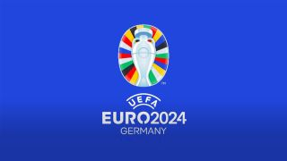 The new logo for the 2024 Euros