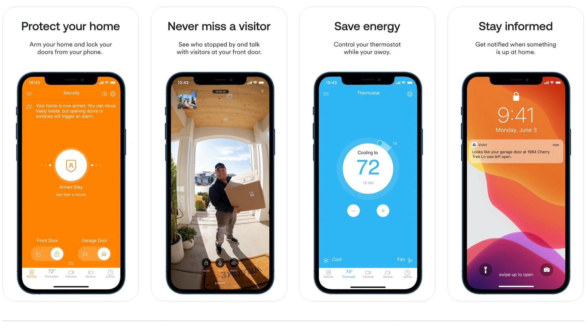 Vivint iOS app