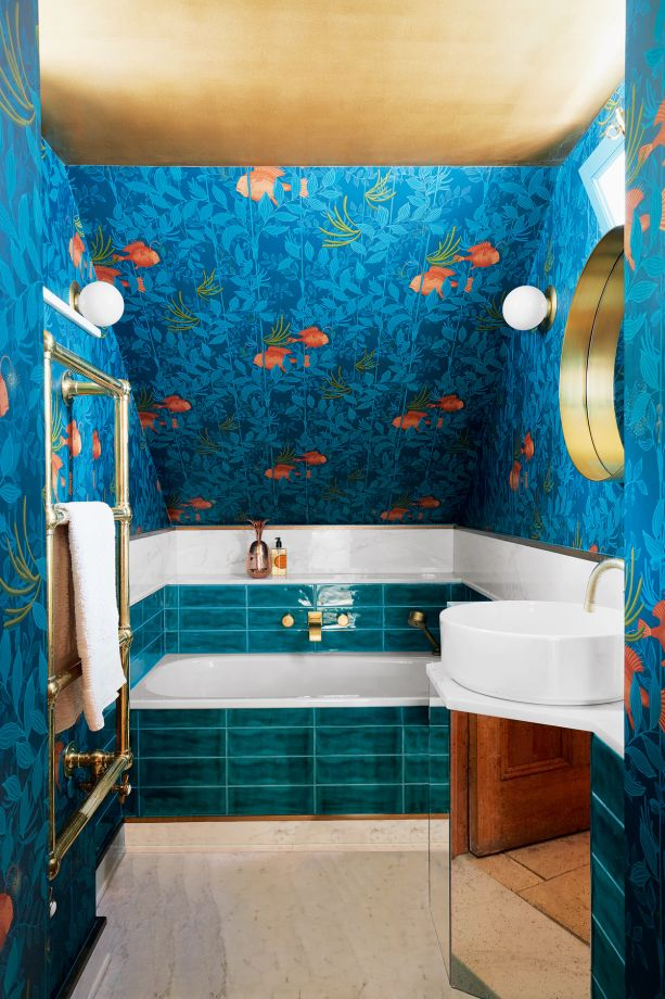 Statement Ceiling Ideas Painted Wallpapered Amp Tiled Ceilings