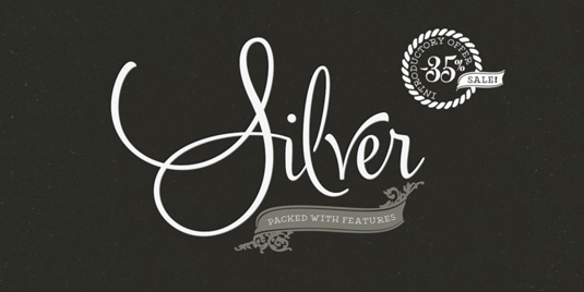Font of the day: Silver