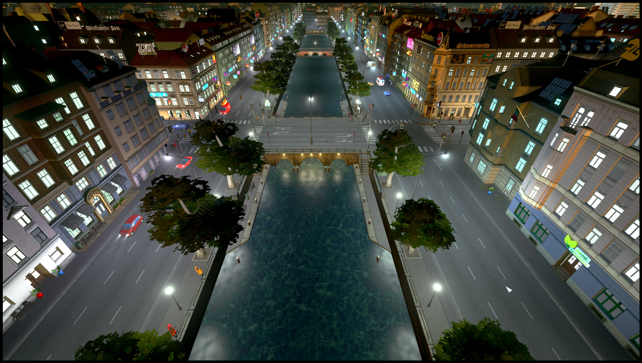 European-style canals modded into Cities: Skylines | PC Gamer
