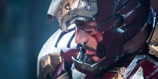 Iron Man injured in Iron Man 3