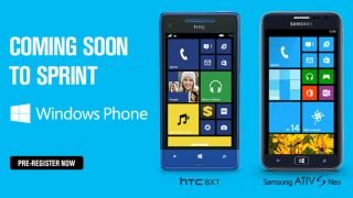Sprint HTC 8XT and Samsung ATIV S Neo