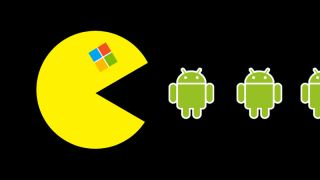 Microsoft eating Android