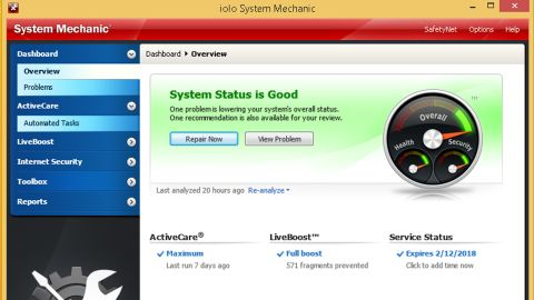 iolo system mechanic 14.5 review