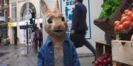 The Rude James Corden Review That Inspired A Very Funny Running Gag In Peter Rabbit 2