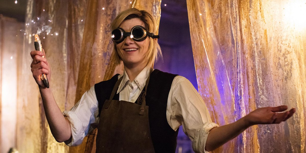 Jodie Whitaker on Doctor Who