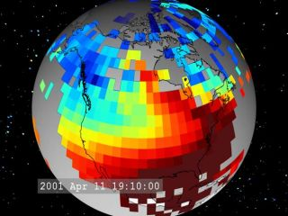 Way-Out Weather: Cold Fronts in Space