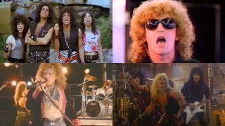 Kiss, Ian Hunter, Bon Jovi, Motley Crue music videos