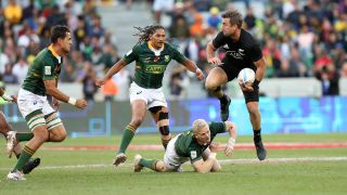 New Zealand vs South Africa rugby match