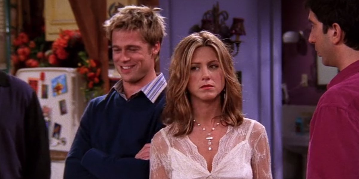 Brad Pitt on Friends
