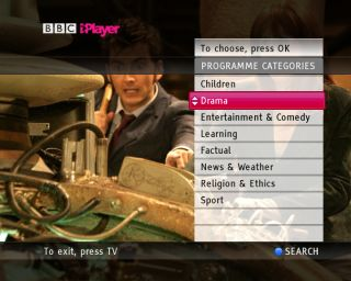 iPlayer sticks to the BBC specifications