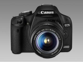 The Canon EOS 500D is an entry level DSLR with Full HD recording capabilities
