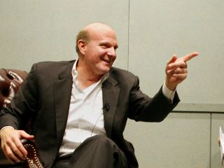 Ballmer: Rare praise for Apple