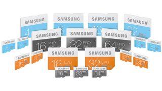 Samsung SD range
