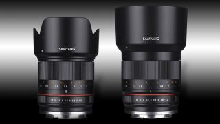 Samyang 21mm f 1 4 and 50m f 1 2 lenses